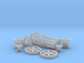 Titanic Steam Winch Scale 1:48 in Smooth Fine Detail Plastic