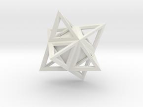Diamond 16 in White Natural Versatile Plastic