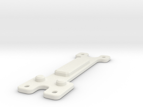 Drill Template for DNA200 V2 Mount for Alpinetech  in White Natural Versatile Plastic