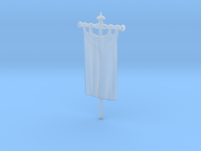 28mm/32mm Custom Banner_A in Smooth Fine Detail Plastic