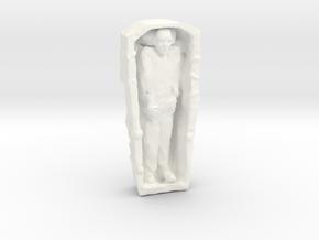 Nosferatu (v.1) in White Processed Versatile Plastic