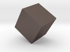 Cube Paperweight in Stainless Steel