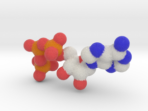 ATP Molecule (4X2D) in Full Color Sandstone