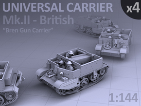 Universal Carrier Mk.II - (4 pack) in Frosted Ultra Detail