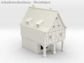 Altstadt Arkadenhaus 2 - 1:220 (Z scale) in White Strong & Flexible