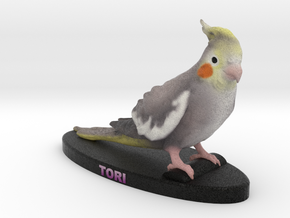 Custom Pet Figurine - Tori in Full Color Sandstone