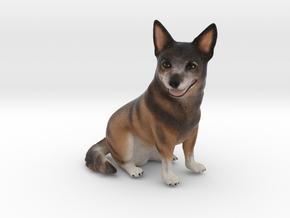 Custom Dog Figurine - Murphy in Full Color Sandstone