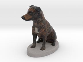 9195 - Roxy - Figurine-meters in Full Color Sandstone