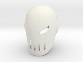 Deathstroke (Slade) Teen Titans in White Natural Versatile Plastic