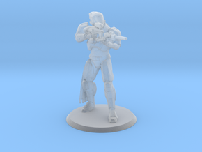 Defender Miniature in Smoothest Fine Detail Plastic