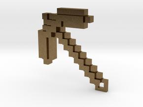 Minecraft - Pickaxe in Natural Bronze