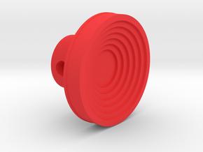 F16 cursor knob  in Red Processed Versatile Plastic