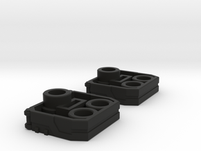 Energon Tank To CW Foot Adapters in Black Natural Versatile Plastic