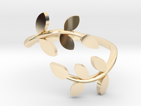 Vine Ring in 14K Yellow Gold: 4 / 46.5