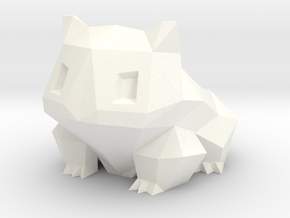 Bulbasaur Planter in White Processed Versatile Plastic
