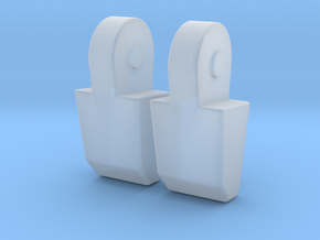 MP-11 Pointer Finger Pair in Smooth Fine Detail Plastic