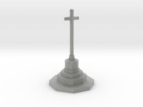 War Memorial in N Gauge (1:148) in Metallic Plastic
