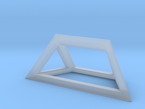Material Sample - 'Impossible' Pyramid Puzzle Piec in Smooth Fine Detail Plastic