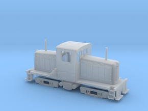 N-Scale Whitcomb 44 Ton Switcher in Smoothest Fine Detail Plastic