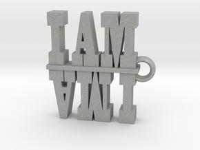 I Am-I AM AM I 2 in Aluminum