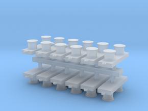 1:96 Bit / Meduim Modern .63 inch in Smooth Fine Detail Plastic