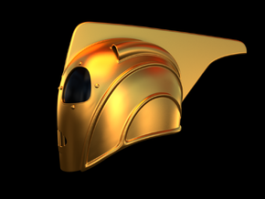 Rocketeer Helmet 1:1 Scale in White Strong & Flexible