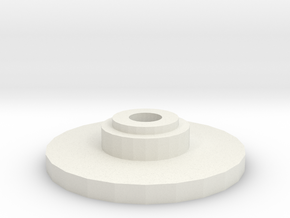 Torque Servo Saver Cap in White Natural Versatile Plastic