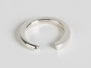 Fable - Size XS in Polished Silver: Extra Small