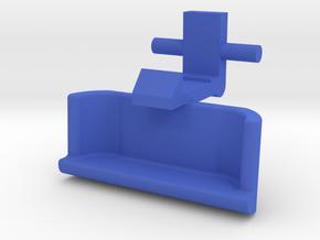2006 Sonata Center Console Upper Latch in Blue Processed Versatile Plastic