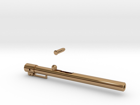 Pen Launcher in Polished Brass