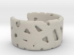 Bracelet Ø69 mm/Ø 2.71 inch in Natural Sandstone
