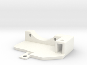 Awesomatix - Cooling Fan Holder (30mm) in White Strong & Flexible Polished