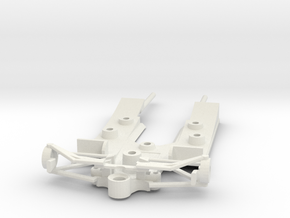 Lotus 78 chassis in White Natural Versatile Plastic