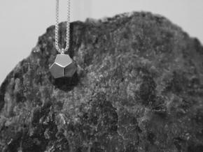 Dodecahedron –Spirit in Premium Silver