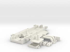 DK167 SLS in White Natural Versatile Plastic