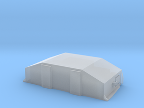 1:87 / H0 Clip-On Reefer Container1 in Smooth Fine Detail Plastic