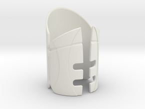 Emitter Shroud - Sentinel in White Strong & Flexible
