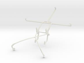 Controller mount for Shield 2015 & Meizu m2 note in White Natural Versatile Plastic