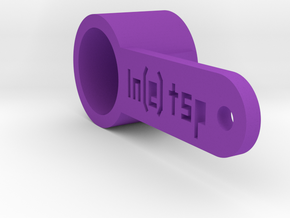 Ln(e) teaspoon in Purple Processed Versatile Plastic