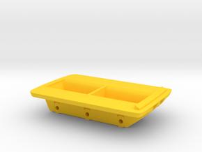 1/48 Amphicat bottom in Yellow Processed Versatile Plastic