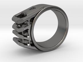 Asgard Size 7½-8 in Polished Nickel Steel