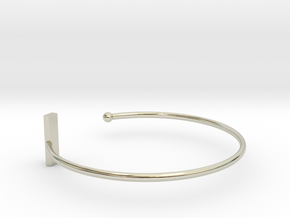 Fine Bracelet Ø 63 Mm/2.48 inch R Medium in 14k White Gold