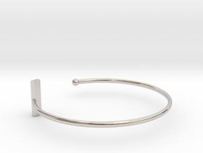 Fine Bracelet Ø 58 mm/2.283 inch R Small in Platinum