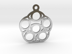 Six. - Tribute to the Philosophy of Number in Polished Silver