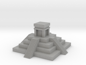 Aztec Pyramid Fixed in Raw Aluminum