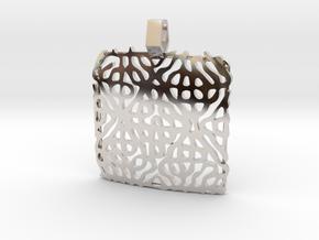 Siggnatur Jewellery sacred geometry cymatics 4840  in Platinum