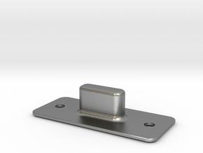 Klapperschutzbodenmulde2.5 in Natural Silver