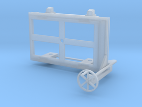 A-1-24-wagon-d-class-bogie-1a in Smooth Fine Detail Plastic