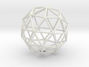 Maxvol.3.32 50mm in White Natural Versatile Plastic