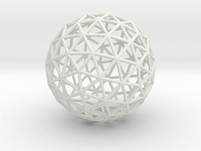 Maxvol.3.92 50mm in White Natural Versatile Plastic